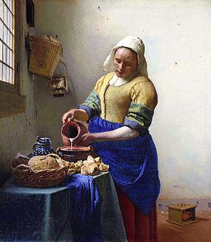 Vermeer-TheMilkmaid